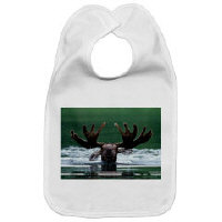 Moose Teddy Bears and Baby Bibs