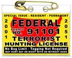 Terrorist Hunting Permit