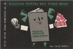 Polish Bank Matchbox Label
