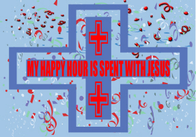 RELIGION/HAPPY HOUR