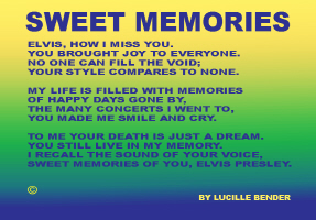 ENTERTAINMENT/POP CULTURE-SWEET MEMORIES