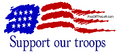 American Flag - Support our Troops