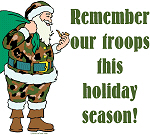 Camo Santa - Remember our Troops