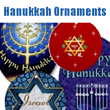 Hanukkah Ornaments & Keepsakes
