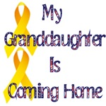 My granddaughter is coming home