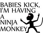 Ninja Monkey Baby