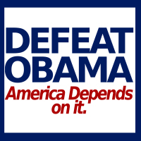 Defeat Obama, America Depends on it.