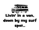 LIVIN' IN A VAN... DOWN BY MY SURF SPOT