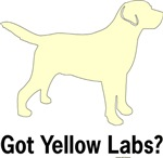 Got Yellow Labs Silhouette