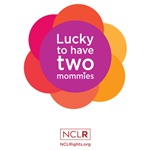 Lucky To Have Two Mommies - Pink Wheel