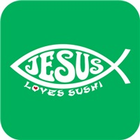 Jesus Loves Sushi - White