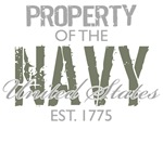 Property of the US Navy (Green)