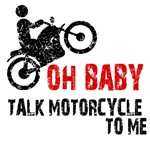 Oh Baby, Talk motorcycle to me! Sexy biker.
