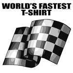 World's Fastest T-shirt. Ever! Funny speeding gift