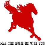 May The Horse Be With You! Funny quotes