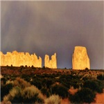 Monument Valley Storm Wall