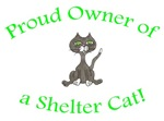 Proud Shelter Cat Owner (HUMANE SOCIETY)
