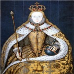 Elizabeth in Coronation Robes