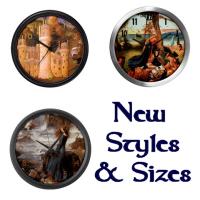 New Products! Wall Clocks