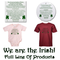 New Design! 'We Are The Irish!'