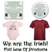 New Design! 'We Are The Irish!'