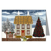 Country Village Series© Greeting Cards