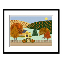 Country Village Series© Framed Prints