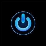 Power Symbol - Blue