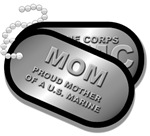MOM MOTHER OF A US MARINE