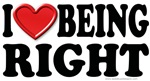 I Heart (Love) Being Right