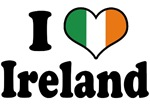 I Love Ireland Tricolor T-Shirts