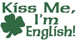 Kiss Me I'm English T-Shirts