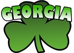 Georgia Shamrock T-Shirts
