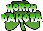 North Dakota Shamrock T-Shirts