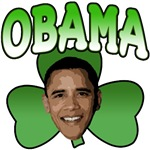 Obama Shamrock T-Shirts