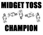 Midget Toss Champion