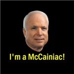 I'm a McCainiac!