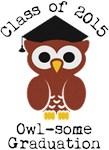 Class of 2015 Cute Owl