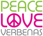 Peace Love Verbenas