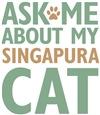 Singapura Cat Breed Merchandise