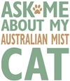 Australian Mist Cat Breed Merchandise