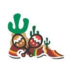 Mexican Maracas Design