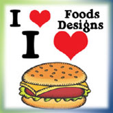 I Heart (Love) Food Designs