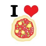 I Heart (Love) Pizza
