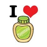 I Heart (Love) Mayonnaise (Mayo)