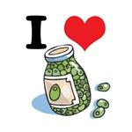 I Heart (Love) Green Olives