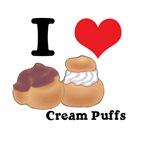 I Heart (Love) Cream Puffs