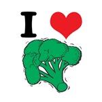 I Love (Heart) Broccoli