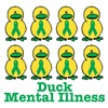 Duck Mental Illness Awareness Ribbon Ducks
