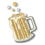 Retro Style Beer